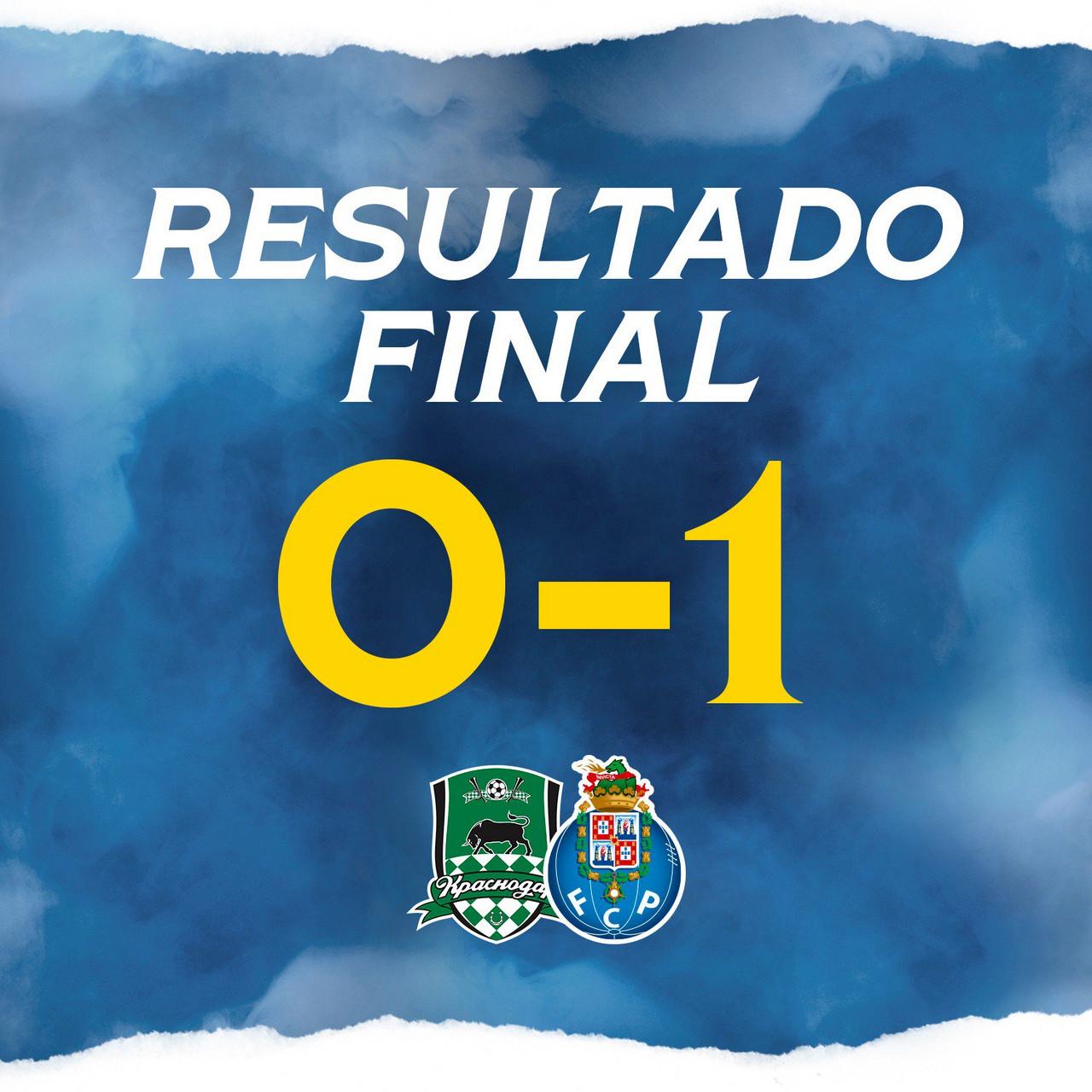 FC Porto venceu na Rússia