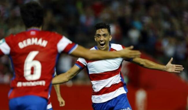 José Antonio Martínez regresa cedido al Granada CF