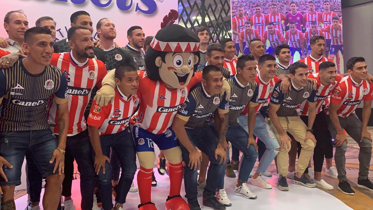 El Atlético de San Luis fue presentado a los medios