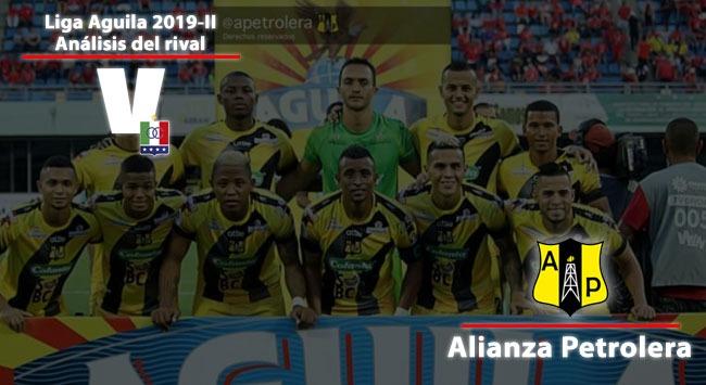 Once Caldas: Análisis del rival: Alianza Petrolera