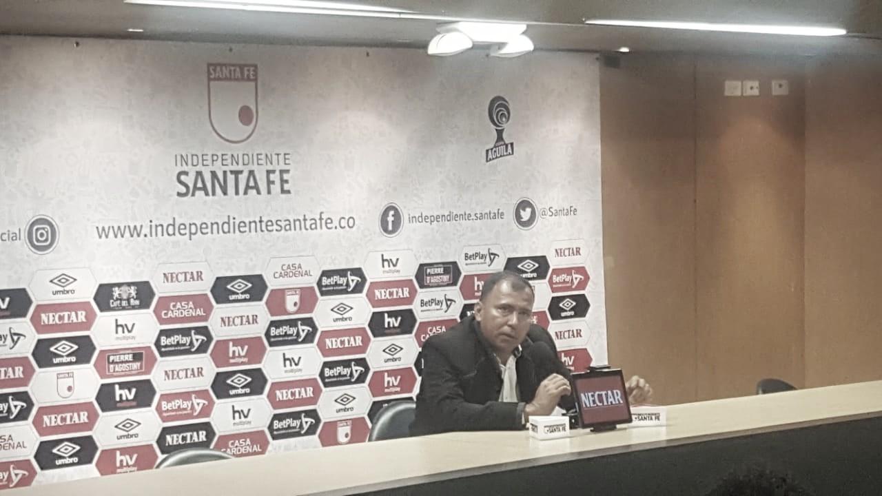 """Harold Rivera: """"Me deja tranquilo la actitud de los jugadores, lo que me preocupa es el tiempo"""""""