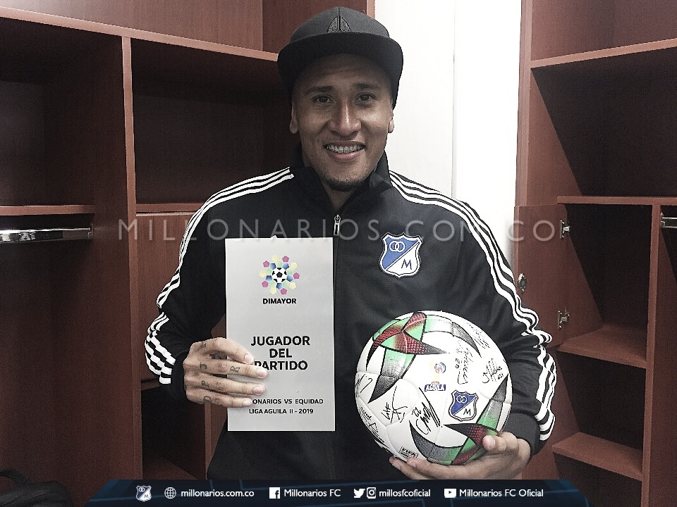 José Guillermo Ortiz logró conseguir la victoria frente a la Equidad