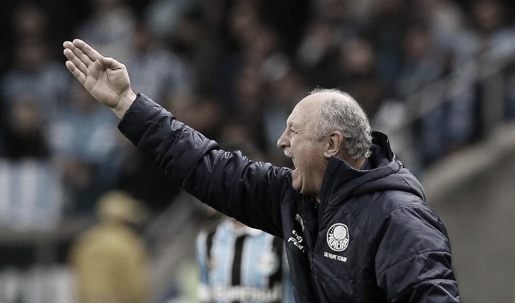 """Felipão projeta jogo de volta contra o Grêmio: """"Temos que ter muitos cuidados"""""""