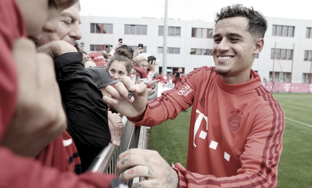 Philippe Coutinho é o 13° brasileiro a jogar no Bayern de Munique