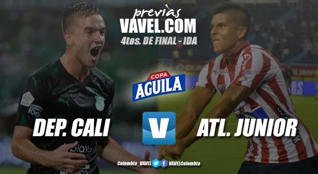 Previa: Deportivo Cali vs. Atlético Junior: se juegan los cuartos de Copa Aguila