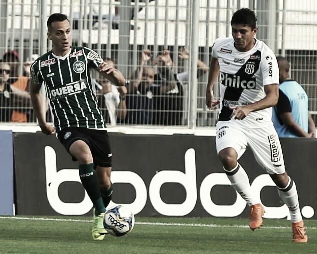 Ponte Preta bate vice-líder Coritiba e se recupera na Série B