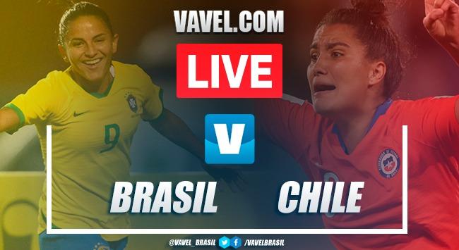 Resultado Brasil 0 (4) x (5) 0 Chile pelo Torneio Amistoso Feminino