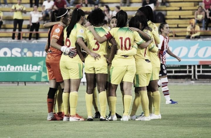 Atlético Huila ya es semifinalista en la Liga Femenina