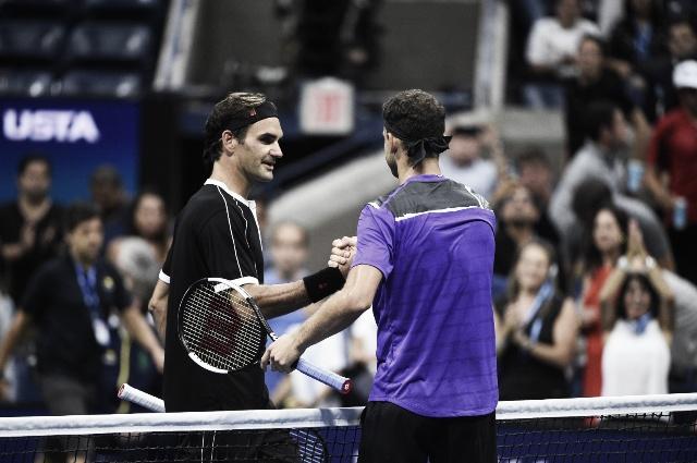 Dimitrov sacó del Us Open a Roger Federer y pasó a semifinales