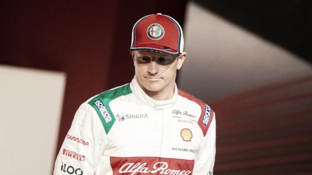 Insatisfeito, Raikkonen classifica seu GP da Itália como 'fim de semana de merda'