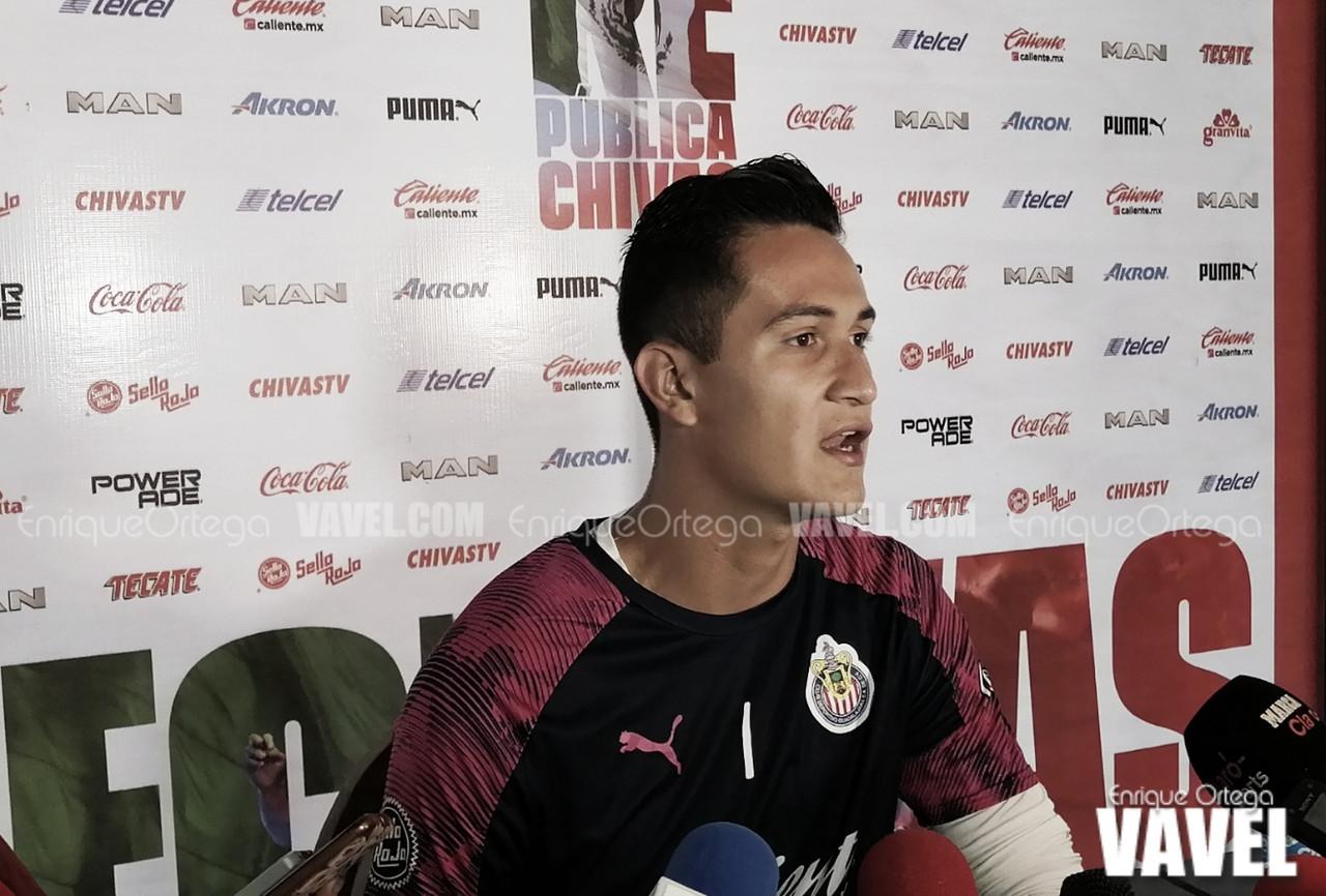 """Raúl Gudiño: """"El puesto de entrenador en Chivas, siempre puede estar en riesgo"""""""