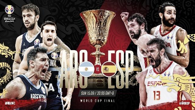 Previa de la gran final entre Argentina y España