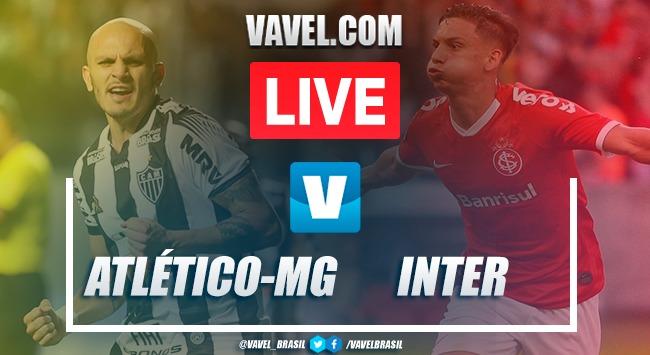 GOLS E MELHORES MOMENTOS de Atlético-MG x Internacional AO VIVO pelo Brasileirão (1-3)