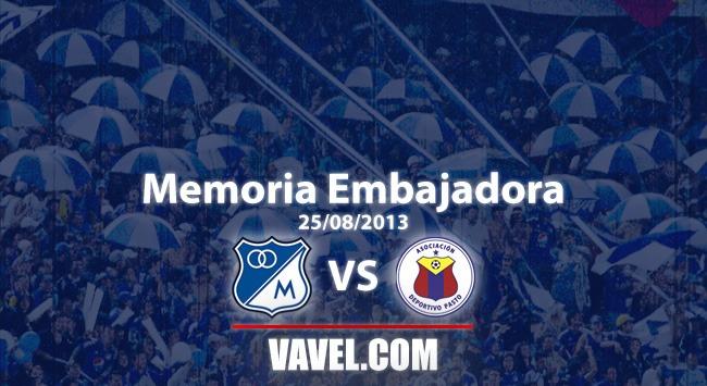 Memoria 'Embajadora': el día que Millonarios goleó al Deportivo Pasto