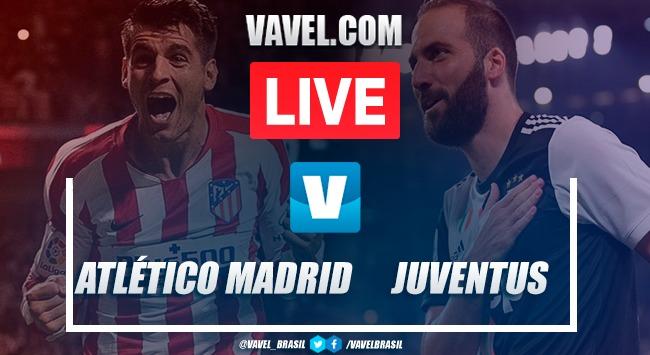 Gols melhores momentos Atlético de Madrid 2x2 Juventus pela Champions League 2019-20