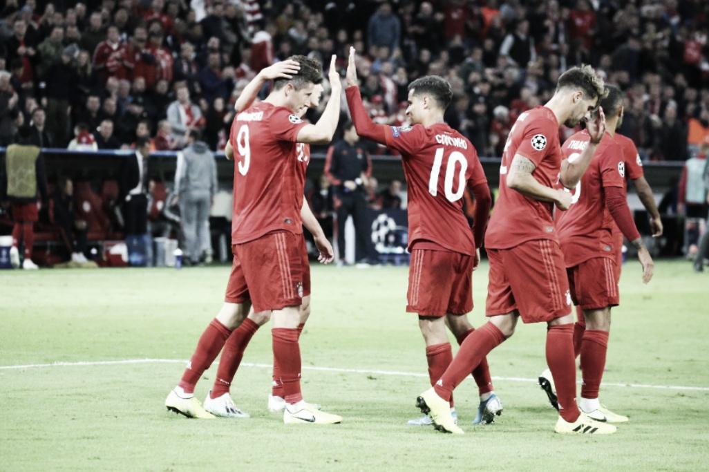 Bayern joga bem e derrota Estrela Vermelha em estreia na Champions League