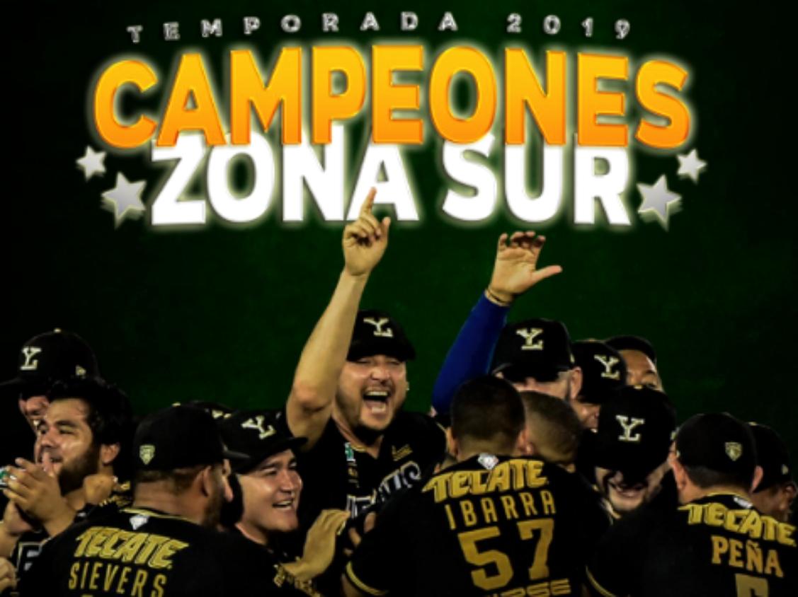 Leones de Yucatán, campeones de la Zona Sur en la LMB