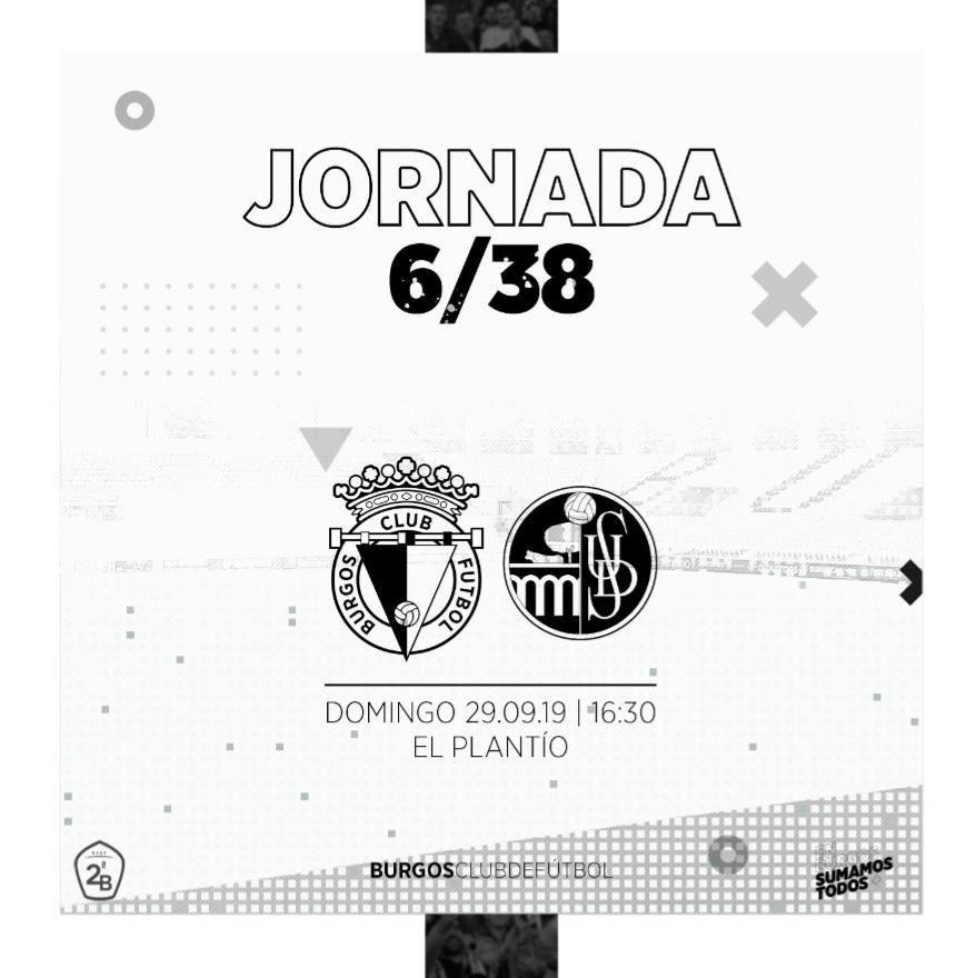 El Salamanca CF visitará El Plantío el domingo 29