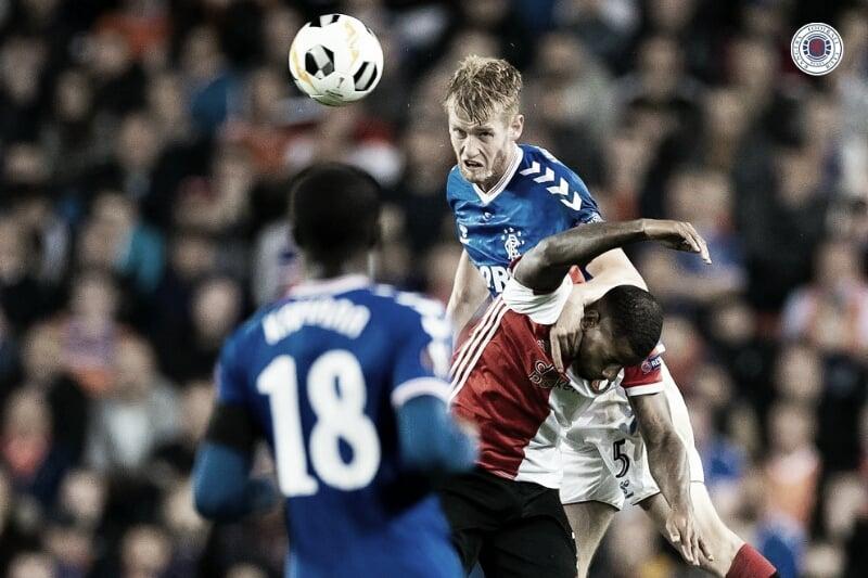 Mesmo com pênalti perdido, Rangers bate Feyenoord pela Europa League