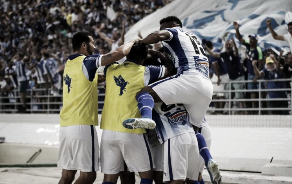 CSA bate Ceará, soma a quarta vitória e deixa Z-4