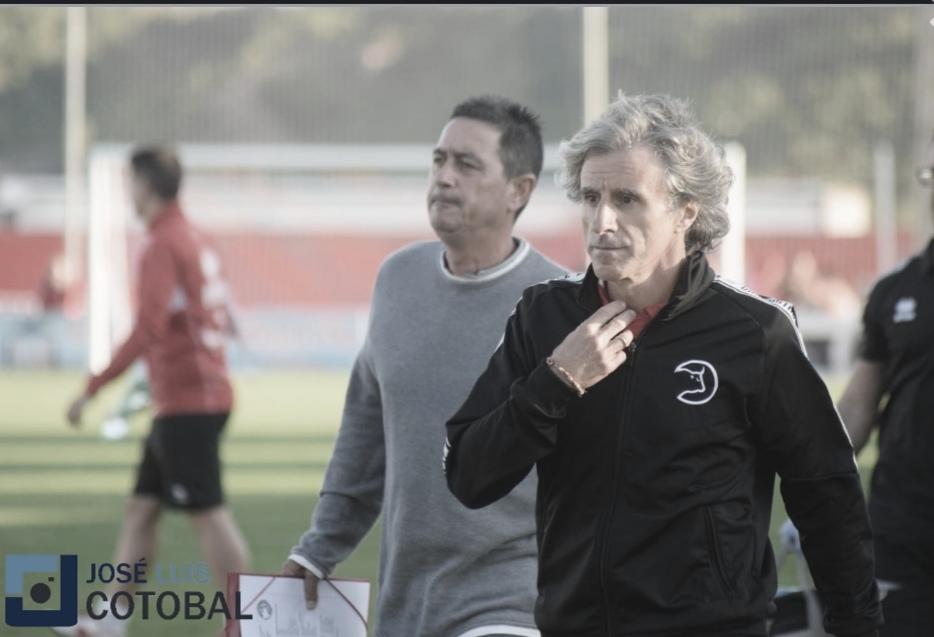 """Roberto Aguirre: """"Hicimos un gran partido ante un gran equipo"""""""