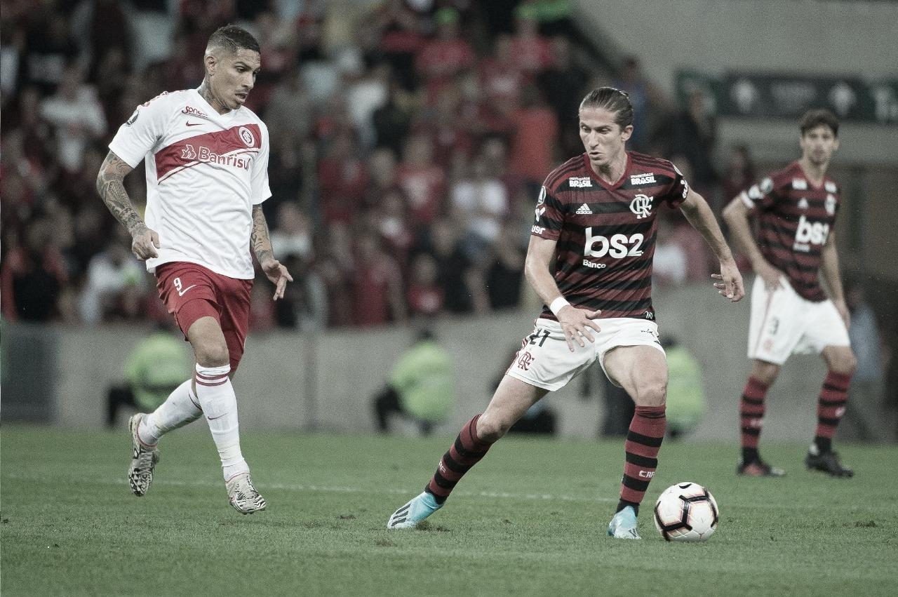 Flamengo e Inter se reencontram, agora na briga pelo título do Brasileiro