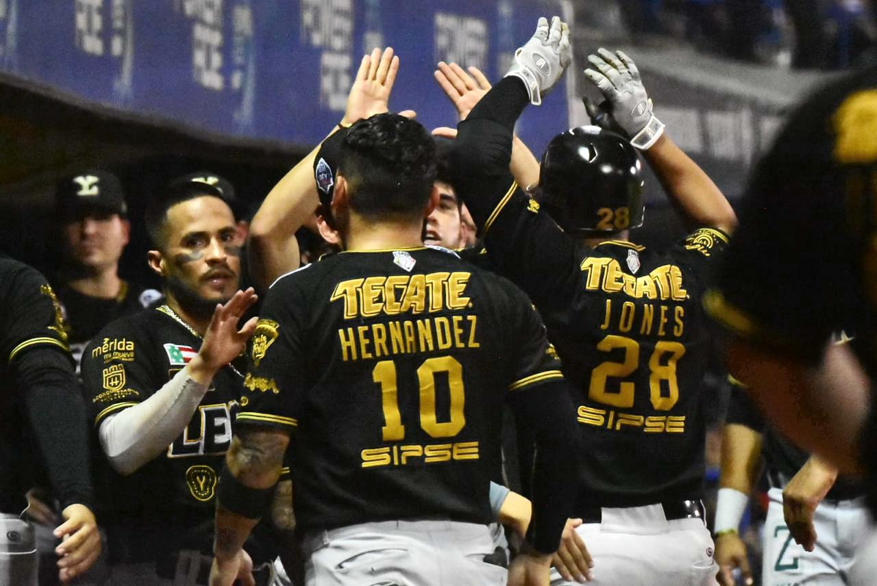 Los Leones de Yucatán pegan primero en la Serie del Rey