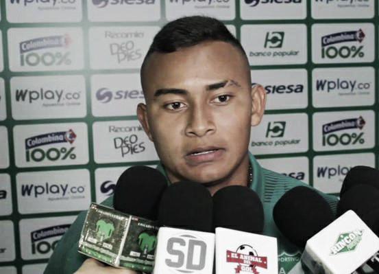 """Rafael Tapia: """"En el Deportivo Cali hay mucho talento"""""""