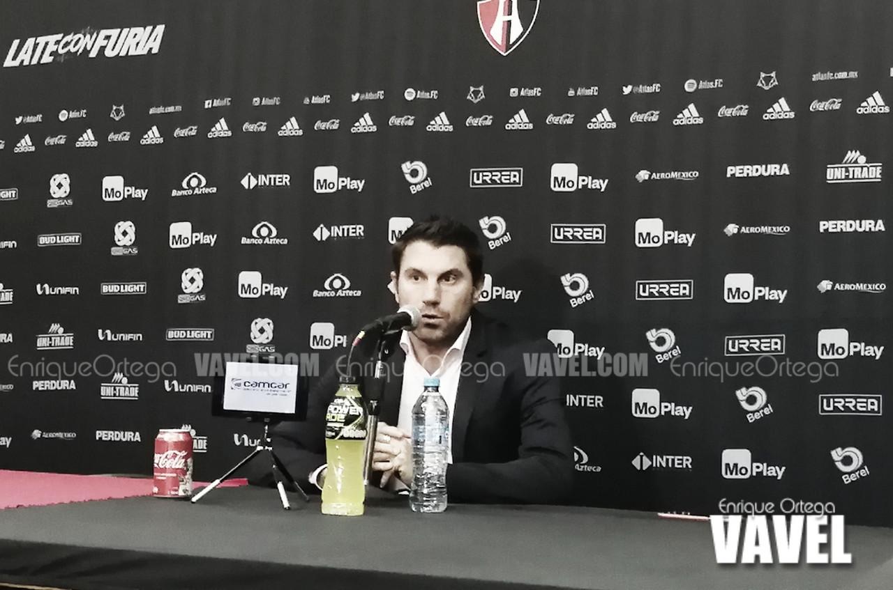 """Leandro Cufré: """"Estaba tranquilo, nunca intranquilo con mi equipo"""""""