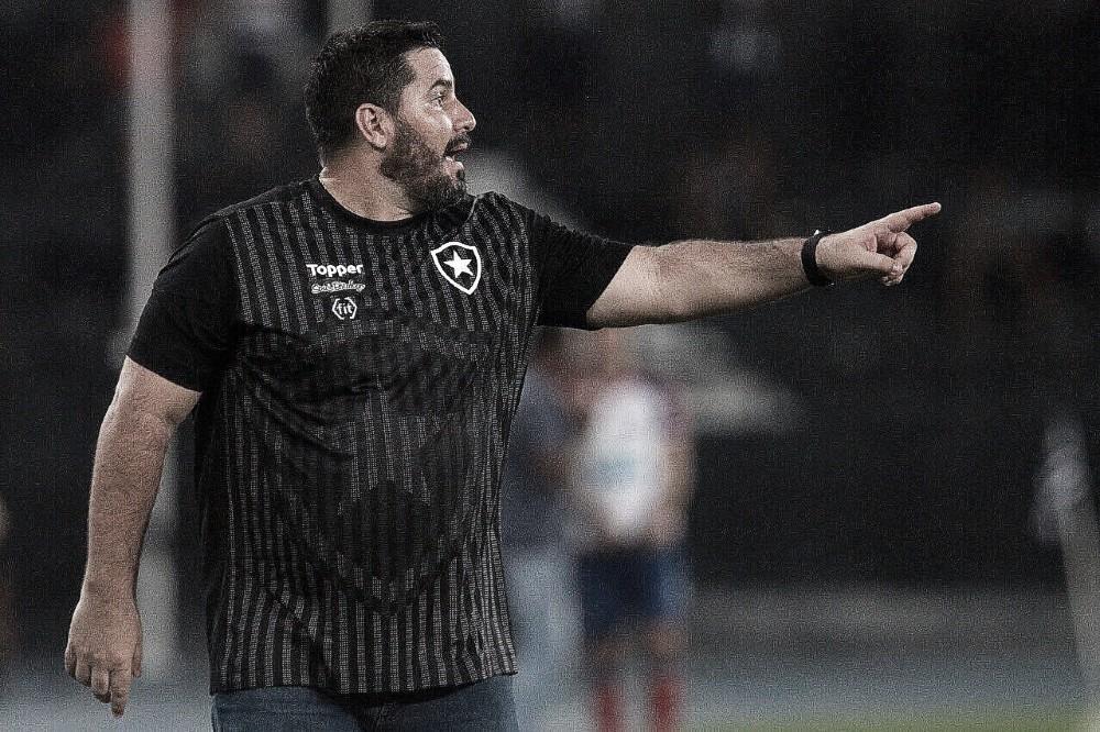 Barroca encara terceira derrota seguida com Botafogo e prega resiliência