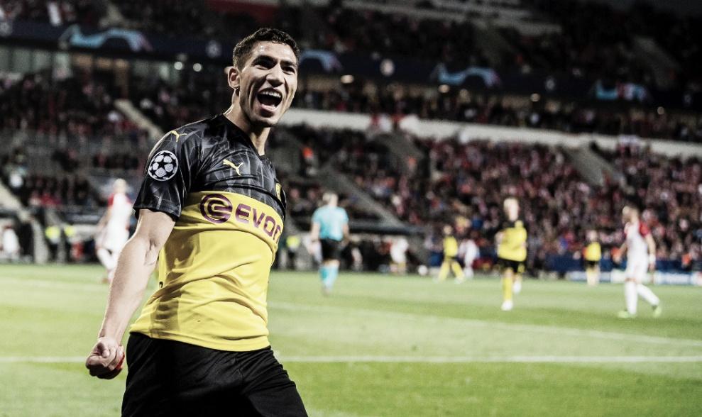 Borussia Dortmund sai na frente, sofre pressão, mas derrota Slavia fora de casa