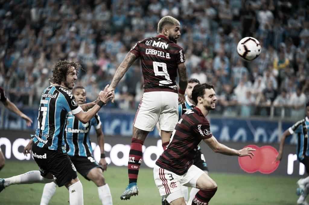 Tudo igual! Grêmio e Flamengo empatam no Sul, e vaga continua aberta na Libertadores