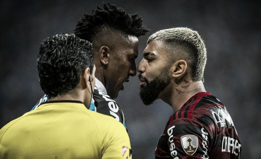 O embate de números da primeira semifinal entre Grêmio e Flamengo
