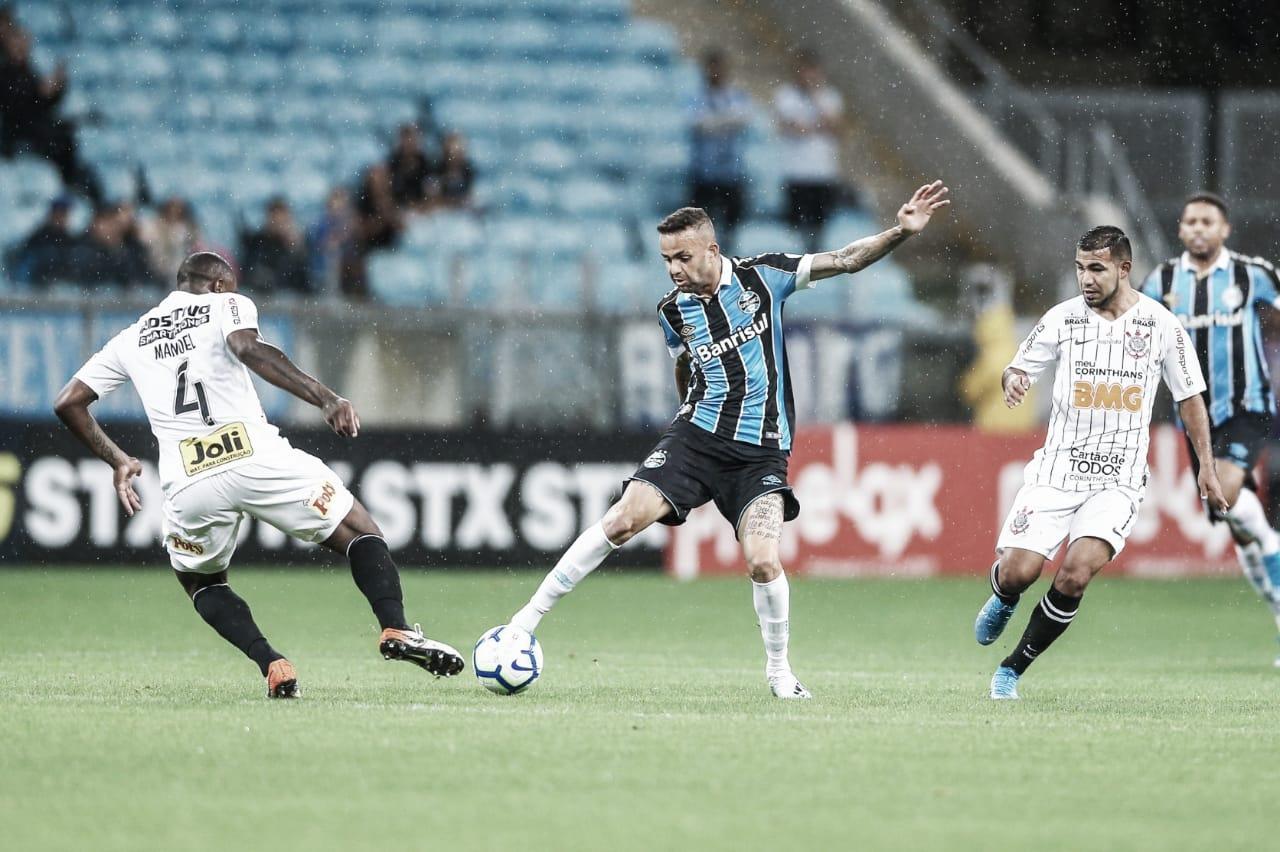 Grêmio e Corinthians ficam no empate sem gols em jogo de muitas oportunidades