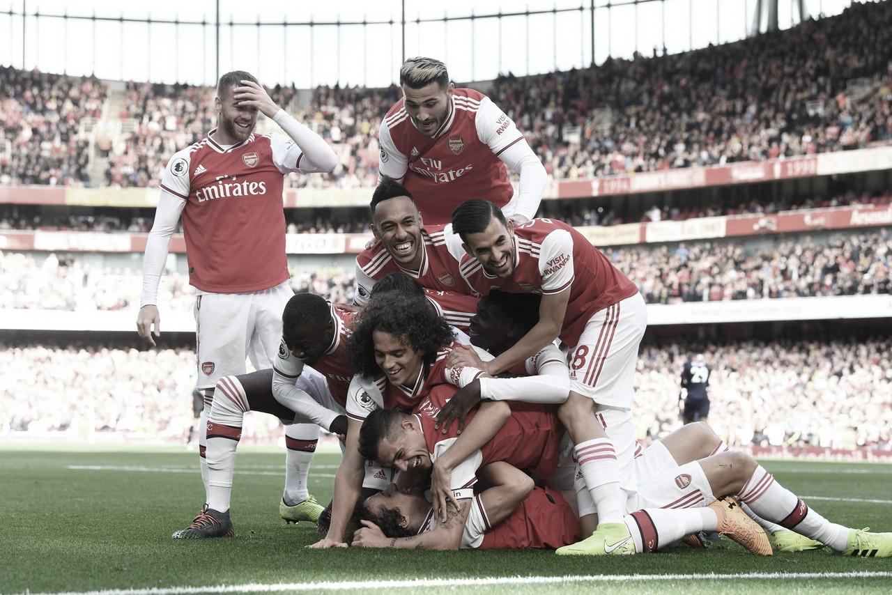 Arsenal bate Bounermouth e se consolida na terceira colocação da Premier League