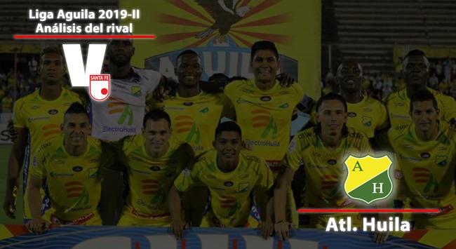 Independiente Santa Fe, análisis del rival: Atlético Huila