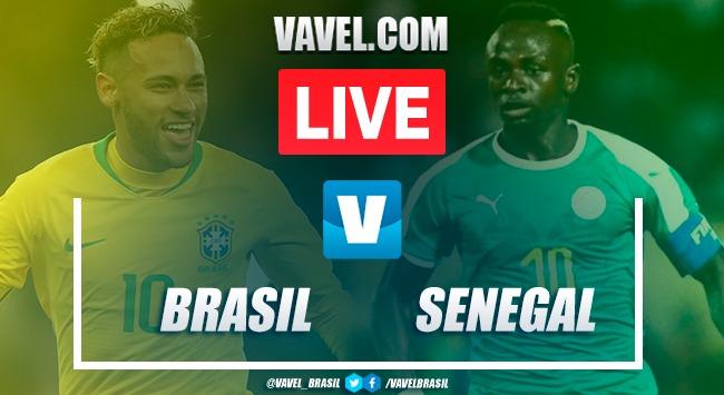 Gols e melhores momentos Brasil 1 x 1 Senegal por Amistoso Internacional 2019