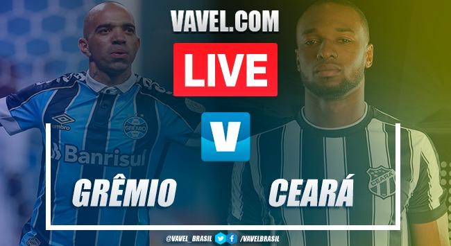 Gols e melhores momentos de Grêmio 2 x 1 Ceará pelo Brasileirão