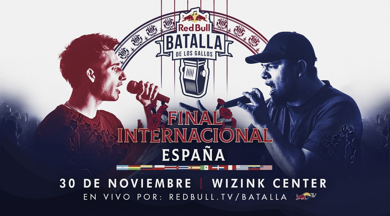 La Final Internacional de la Red Bull Batalla De Los Gallos vuelve a España con Sold Out