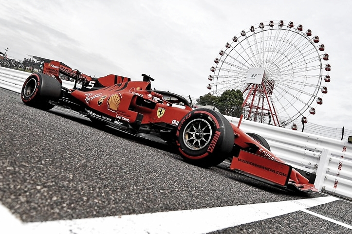 Ferrari surpreende, e Vettel garante pole no GP do Japão
