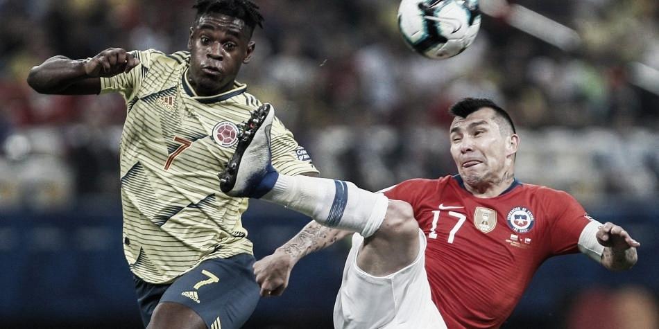 En ceros el fútbol entre Colombia y Chile