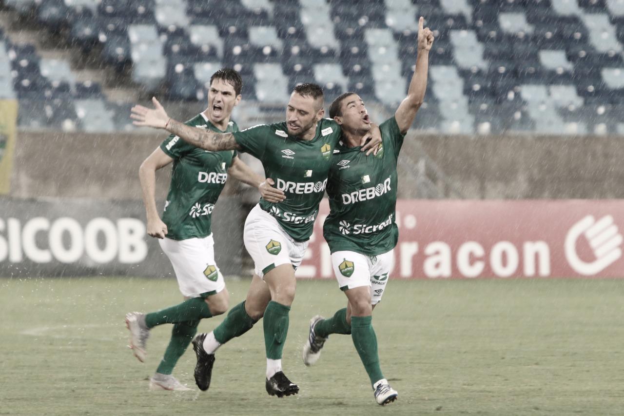 Na estreia de Marcelo Chamusca, Cuiabá bate Guarani e volta a vencer após cinco rodadas