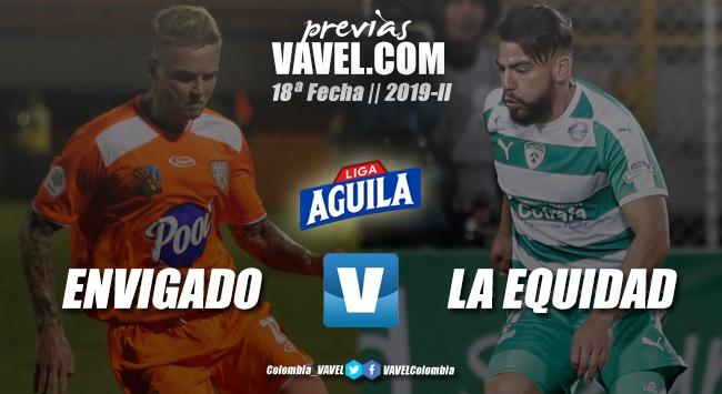 Previa Envigado FC vs. La Equidad: se juega la recta final del torneo