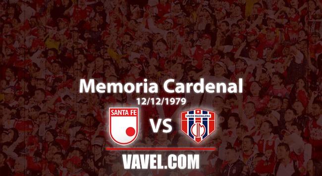Memoria 'cardenal': Santa Fe 2 Unión Magdalena 0 el 'ciclón' se apago ante el 'león' bogotano