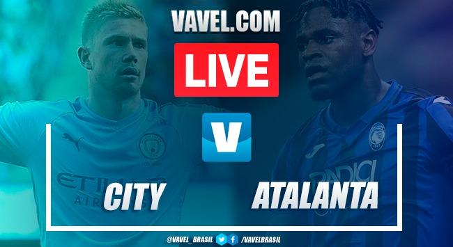 Gols e melhores momentos Manchester City 5x1 Atalanta pela Champions League