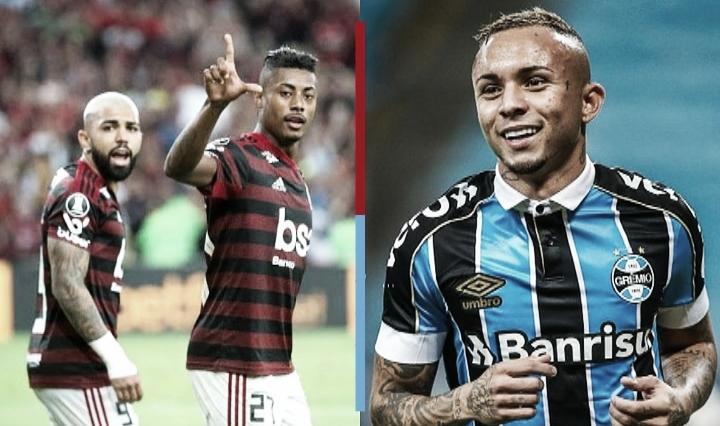 Dia de decisão: Flamengo e Grêmio têm armas fortes no ataque