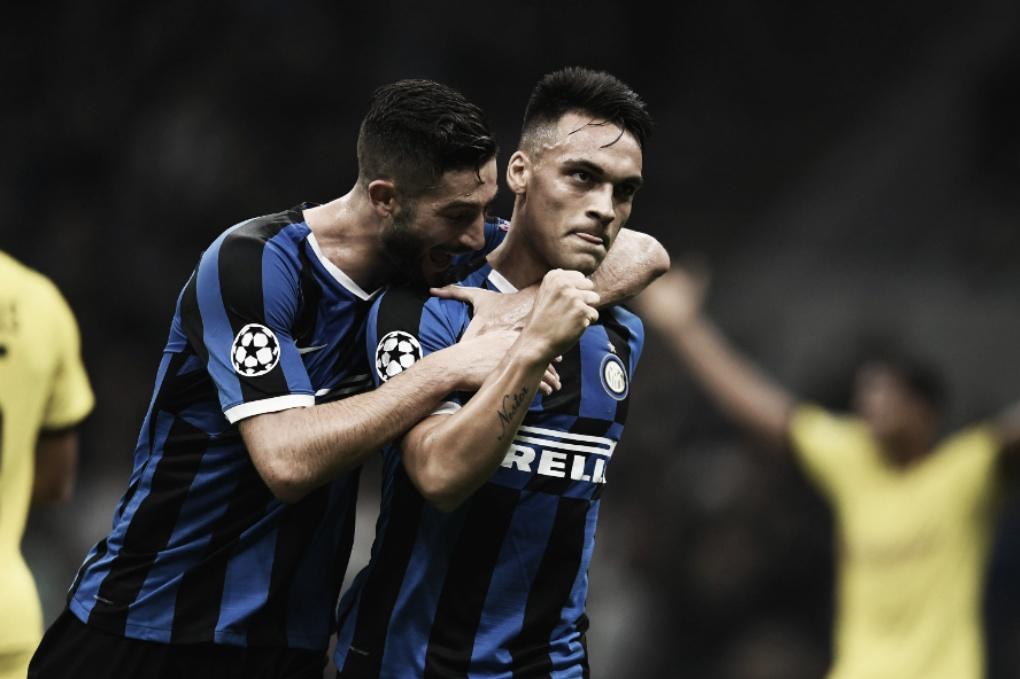 Inter faz jogo sólido e derrota Borussia Dortmund em Milão