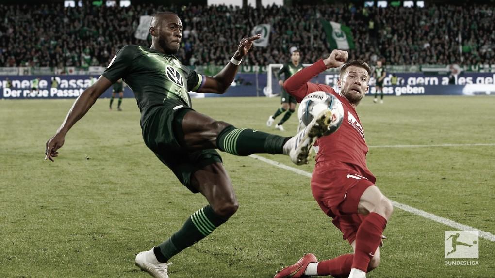 Wolfsburg tem gol anulado no fim, empata com Augsburg e perde chance de ser líder