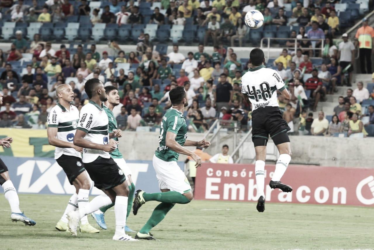 Em jogo pegado, Cuiabá e Coritiba ficam no empate
