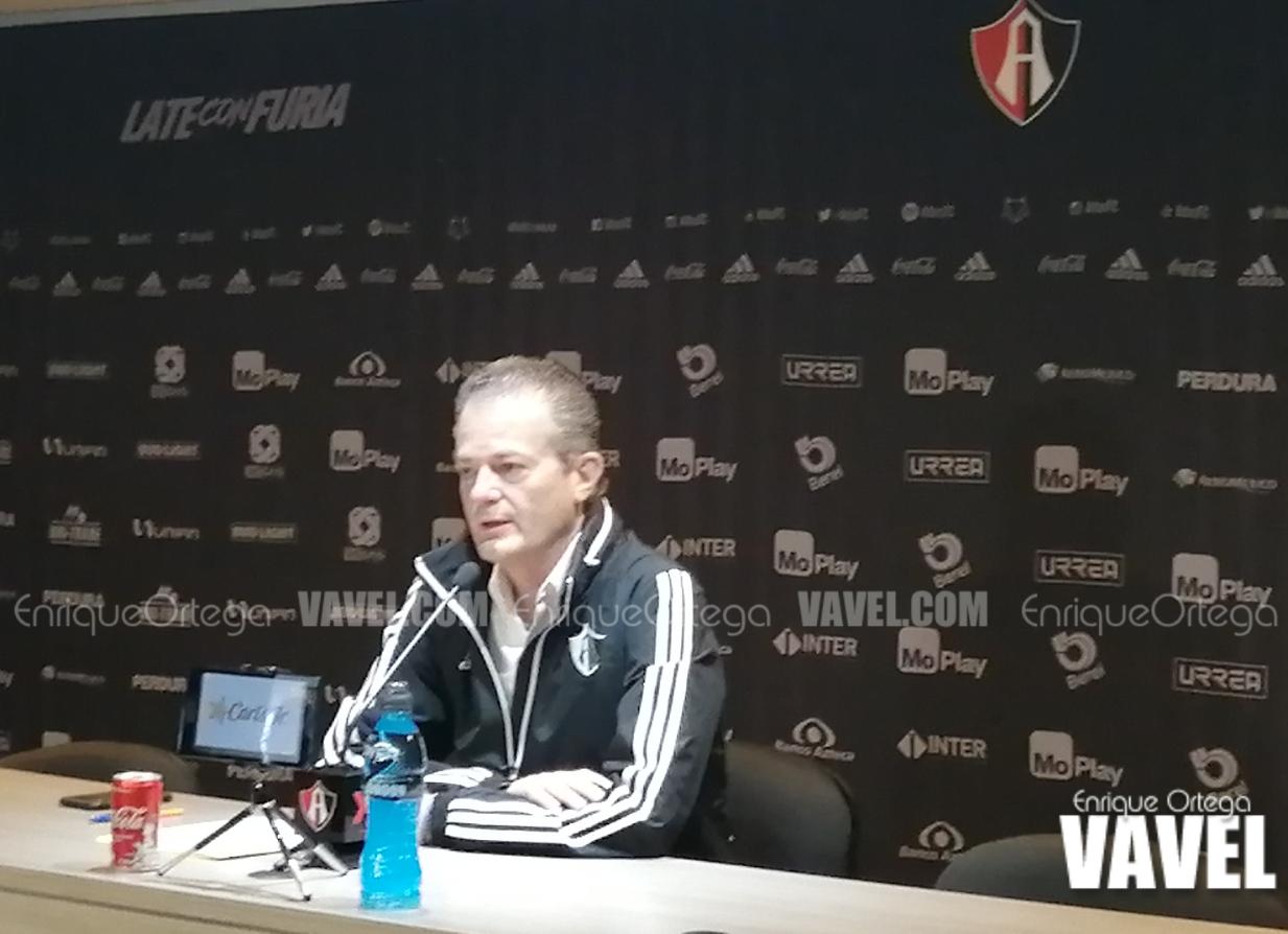"""Pedro Portilla: """"Queremos seguir solidificando el equipo"""""""